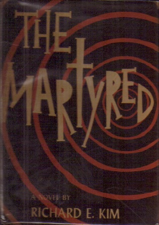 Dust jacket of The Martyred